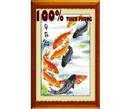 Quanh năm dư thừa (in mầu) tranh thêu phong thủy