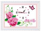 Đồng hồ hoa hồng (in màu)