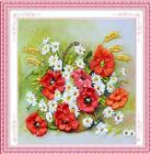 Đồng điệu (Tranh thêu Ruy Băng các loại hoa)