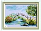 Cây cầu (Tranh thêu Ruy Băng)