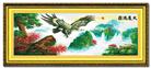 Đại triển đông hồ (Toàn cảnh) (Tranh thêu chữ thập Đại bàng in màu)