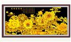 MẪU ĐƠN PHÚ QUÝ - BẢN MỚI (Tranh thêu các loài hoa in màu)