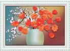 Sắc màu tình yêu (Tranh thêu ruy băng các loài hoa)