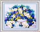 Sắc thái tình yêu (Tranh thêu ruy băng các loài hoa)