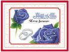 Hoa hồng xanh (in màu)