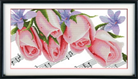 Nốt nhạc hoa hồng (in mầu)
