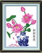 Hoa sen khoe sắc (in mầu)