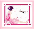 Đồng hồ Cô bé vui vẻ (in mầu)
