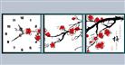 Đồng hồ độc đáo hoa đào (in mầu)